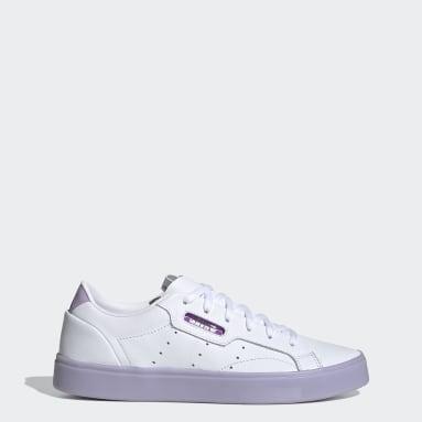 adidas Sleek Shoes Bialy
