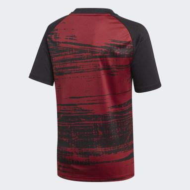 Camiseta calentamiento Arsenal Burgundy Niño Fútbol