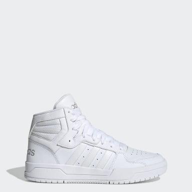 Zapatillas Entrap Mid Blanco Mujer Essentials
