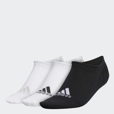 Ženy Golf bílá Ponožky No-Show Liner – 3 páry