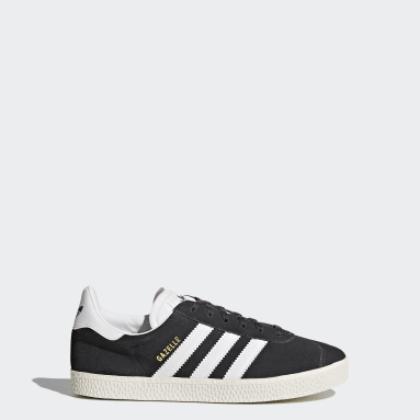 Kids Originals Grey Gazelle Shoes