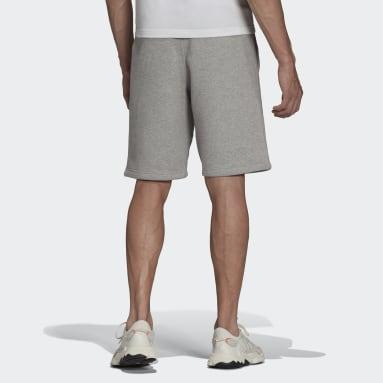 Men Originals Grey Adicolor Essentials Trefoil Shorts