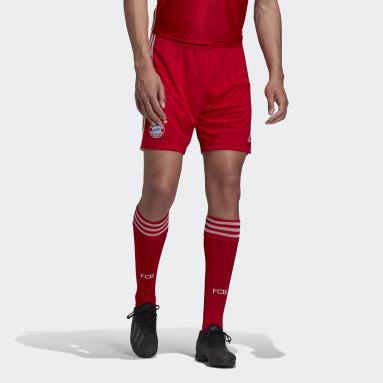 Men Football Red FC Bayern Home Shorts