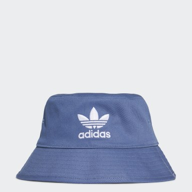 Gorro Trefoil Bucket Azul Originals