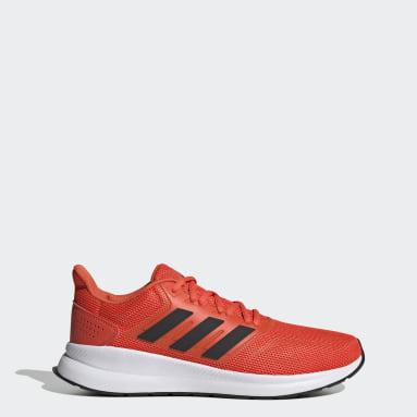 Tênis Runfalcon Vermelho Homem Running