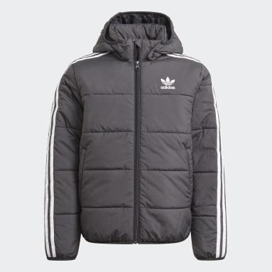 Youth Originals Black Adicolor Jacket