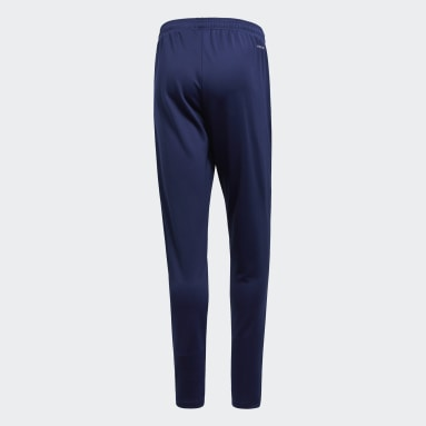 Heren Fitness En Training Blauw Core 18 Sportbroek