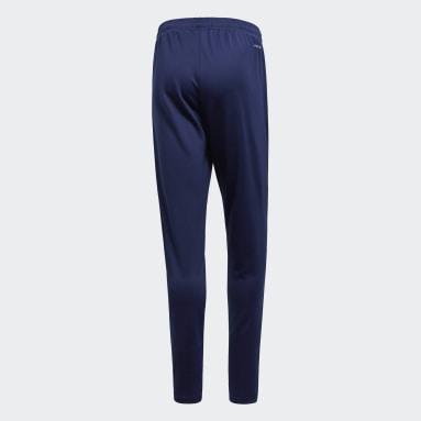 Muži Cvičení A Trénink modrá Kalhoty Core 18 Training
