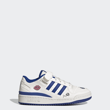 Kids Originals White Forum Low Shoes