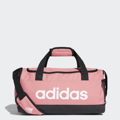 Lifestyle Pink Essentials Logo Duffel Bag Extra Small