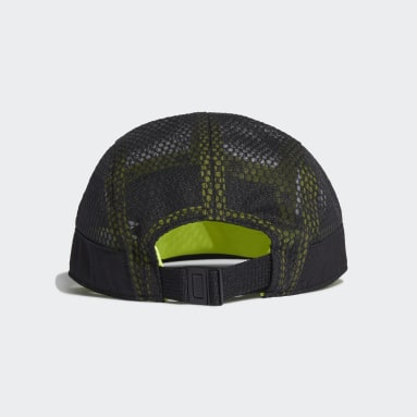 Training Black Five-Panel Athletics Cap