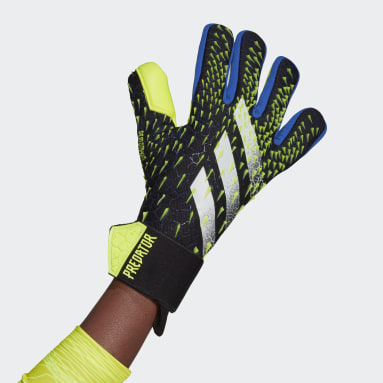Soccer Black Predator Competition Goalkeeper Gloves