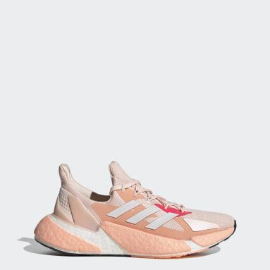 ผู้หญิง วิ่ง สีชมพู รองเท้า X9000L4