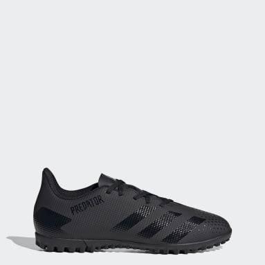 Soccer Black Predator 20.4 Turf Shoes