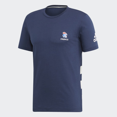 Men Handball Blue French Handball Federation Tee