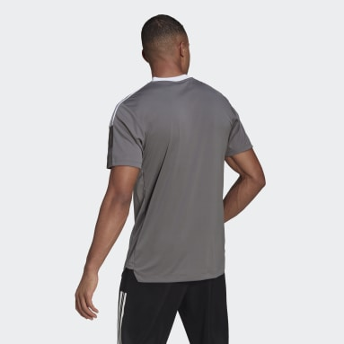 Men Cricket Grey Tiro 21 Training Jersey