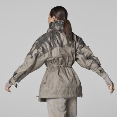 Veste adidas by Stella McCartney TruePace Jacquard Gris Femmes adidas by Stella McCartney