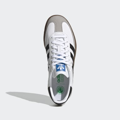 Youth Originals White Samba OG Shoes