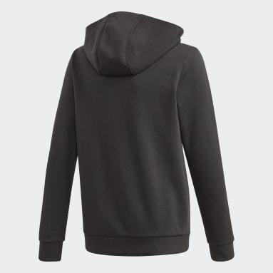 Sudadera con capucha Logo Negro Niño Gimnasio Y Entrenamiento