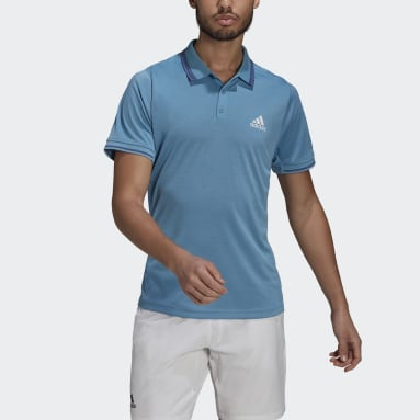 Men's Tennis Blue Tennis Freelift Polo Shirt