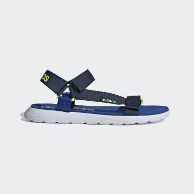 Schwimmen Comfort Sandale Blau