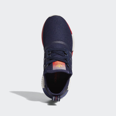 Youth Originals Blue NMD_R1 Los Angeles Shoes