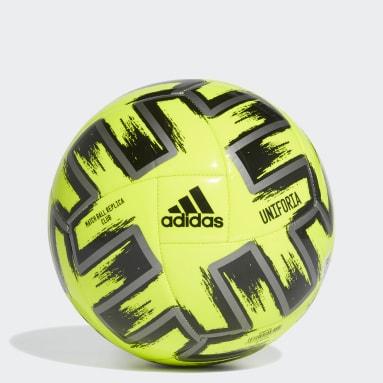 желтый Футбольный мяч Uniforia Club