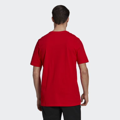 Men's Five Ten Red Five Ten Brand of the Brave Tee