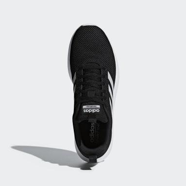 Men Sport Inspired Black Lite Racer CLN Shoes