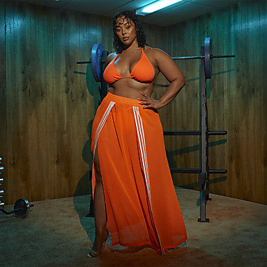 Swim Cover-Up Skirt (Plus Size)
