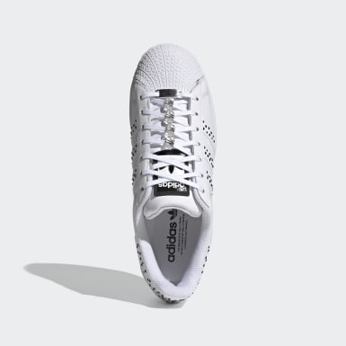 Sapatos Superstar Bold Swarovski Branco Mulher Originals