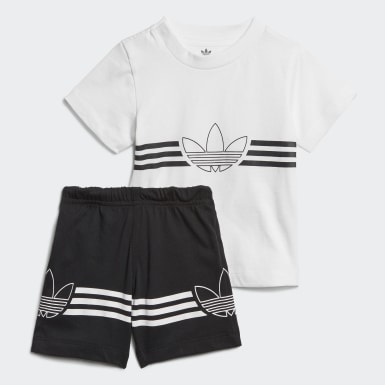 Conjunto Shorts Camiseta Outline