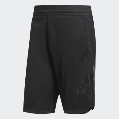 Men Basketball Black Badge of Sport Shorts