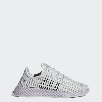 Women Originals Grey Deerupt Runner Shoes