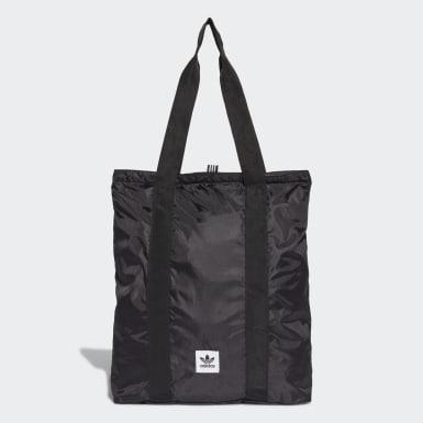 Originals สีดำ กระเป๋าหิ้วพับเก็บได้