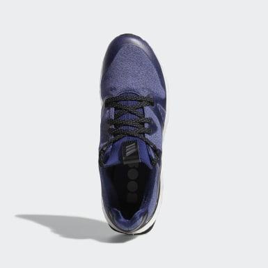 Men Golf Blue Crossknit 3.0 Shoes