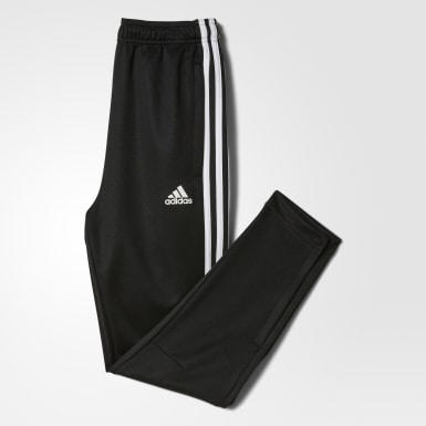 Kids Athletics Black Tiro 3-Stripes Pants
