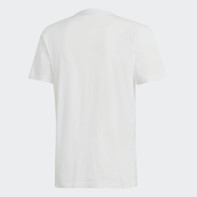 Playera Must Haves Badge of Sport Blanco Hombre Essentials