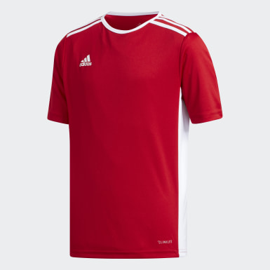 Youth 8-16 Years Training Red Entrada Jersey
