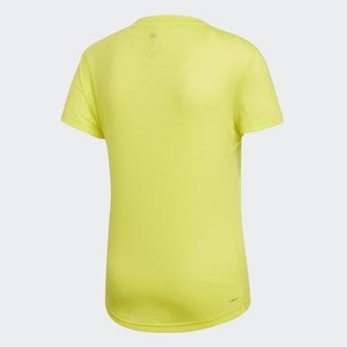 Women Training Yellow FreeLift Prime Tee