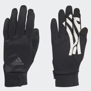 Fußball Football Street Handschuhe Schwarz