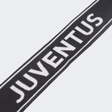 Football Black Juventus Scarf