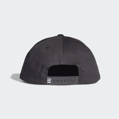 Originals สีดำ หมวกแก๊ปสแนปแบ็ค Trefoil
