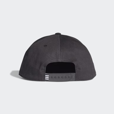 Cappellino Snapback Trefoil Nero Originals