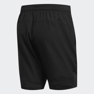 Short 4KRFT Sport Woven Noir Hommes Yoga