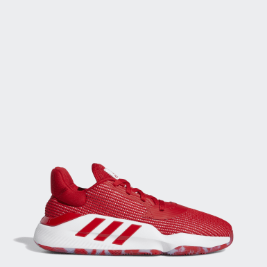 Dames Basketbal Rood Pro Bounce 2019 Low Schoenen