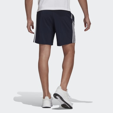 Shorts Essentials Chelsea 3 Rayas AEROREADY Azul Hombre Sport Inspired