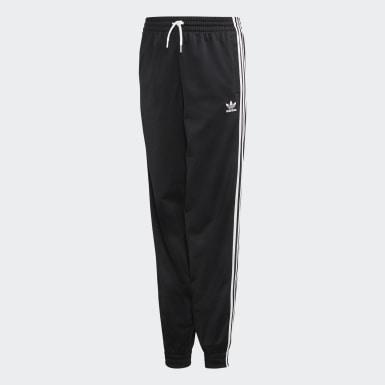 Pantalón Puff - Cintura Media Negro Niña Originals