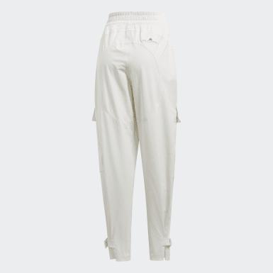 Pantalón Performance Training Suit Blanco Mujer adidas by Stella McCartney