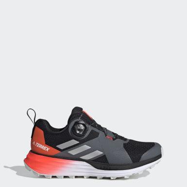 Women TERREX Black Terrex Two Boa Trail Running Shoes